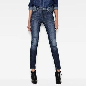 5620 G-Star Elwood Ultra High Super Skinny Jeans